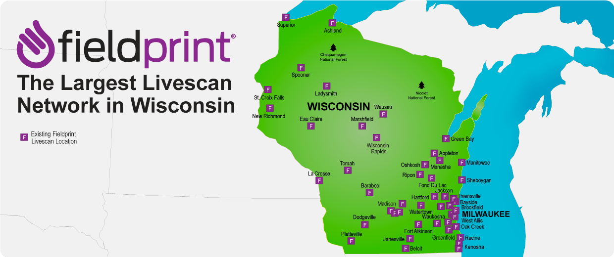 fieldprint fingerprinting serving wisconsin home
